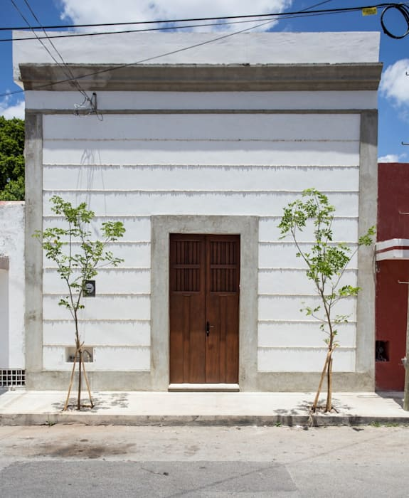 Kolonialne domy od Taller Estilo Arquitectura Kolonialny Beton