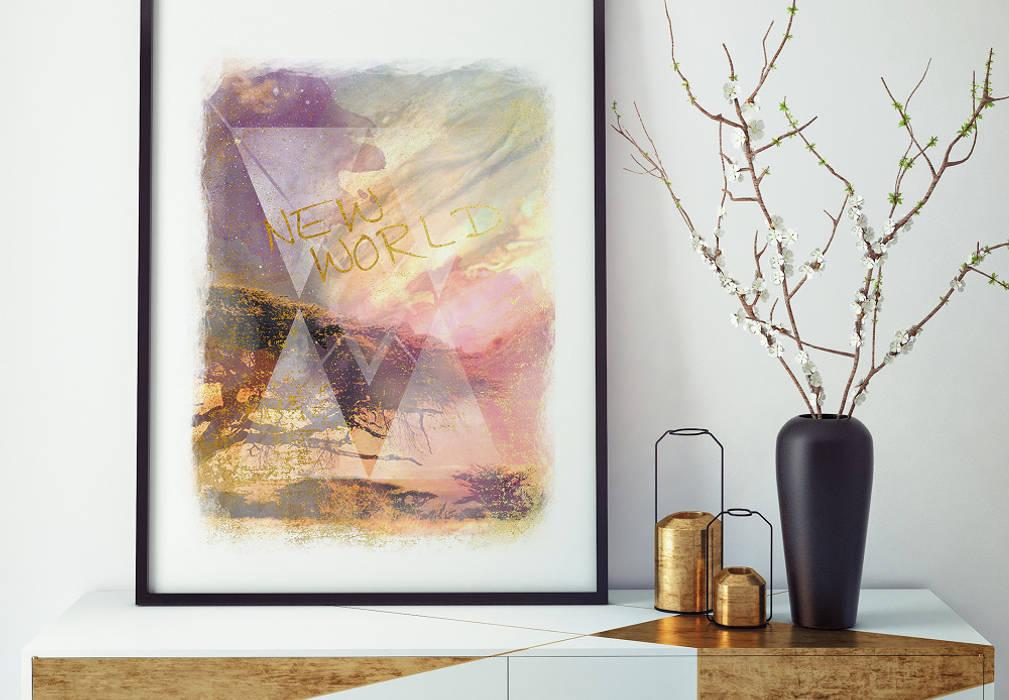 K&L Wall Art Living roomAccessories & decoration Paper Multicolored