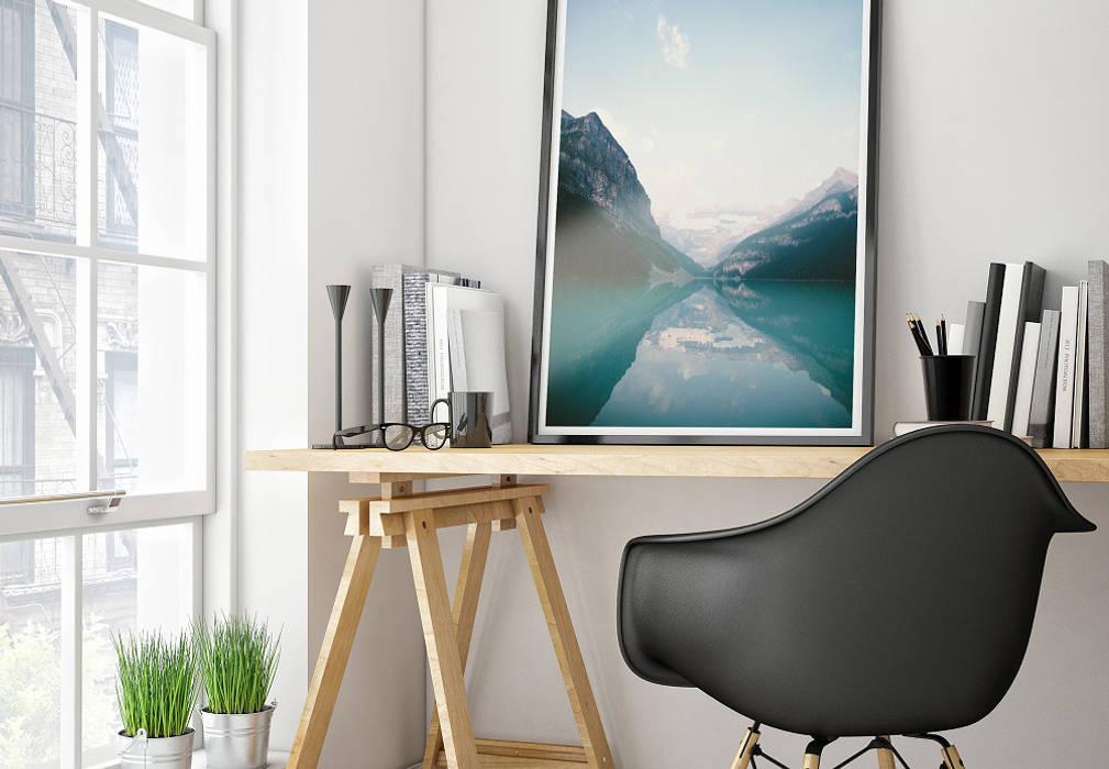 K&L Wall Art Living roomAccessories & decoration Paper Blue