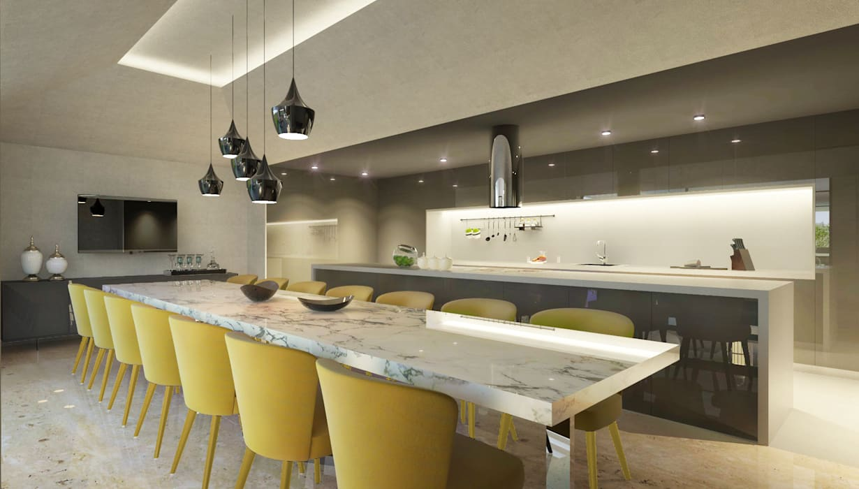 Kitchen by 1870 ARQUITECTURA | INTERIORES,