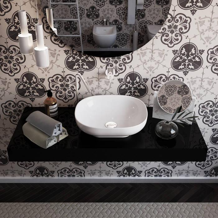 olivia Sciuto Modern Bathroom