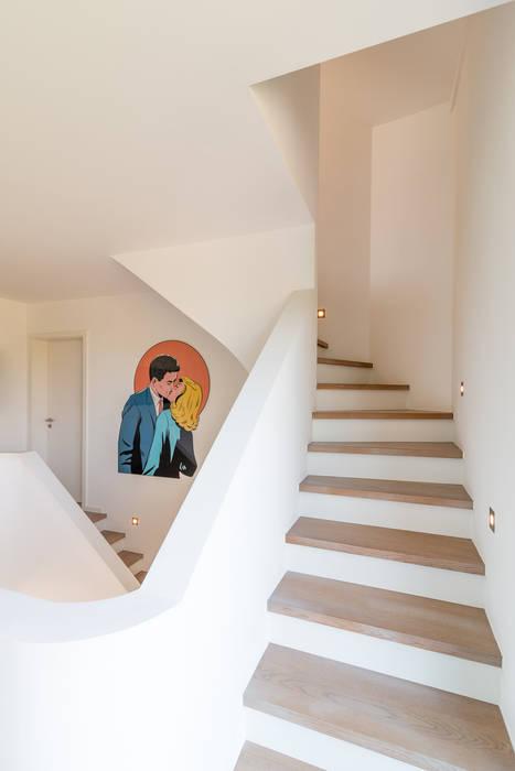 WSM ARCHITEKTEN Moderne gangen, hallen & trappenhuizen van WSM ARCHITEKTEN Modern