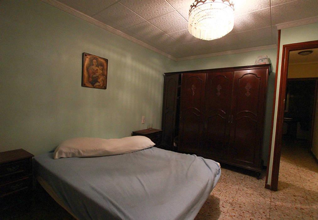 Nowoczesna sypialnia od Novodeco Nowoczesny