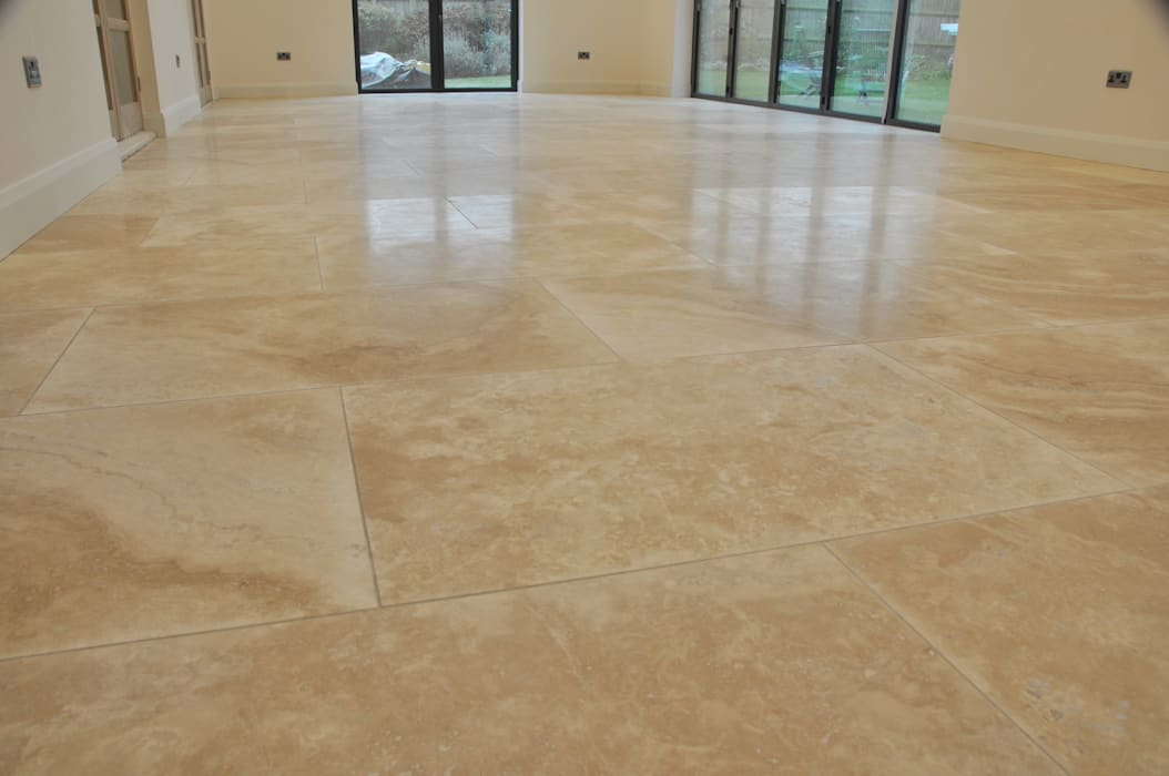 Living Dining Room Design Ideas With Travertine Tiles By Store