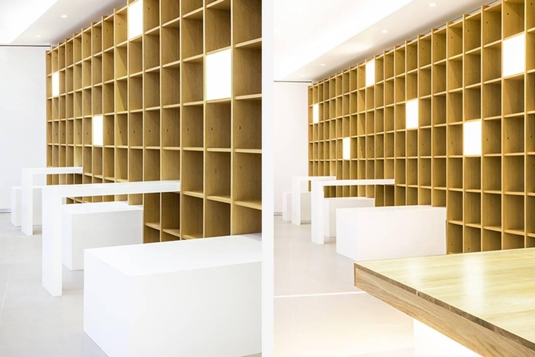 Estudios y oficinas modernos de 지오아키텍처 Moderno