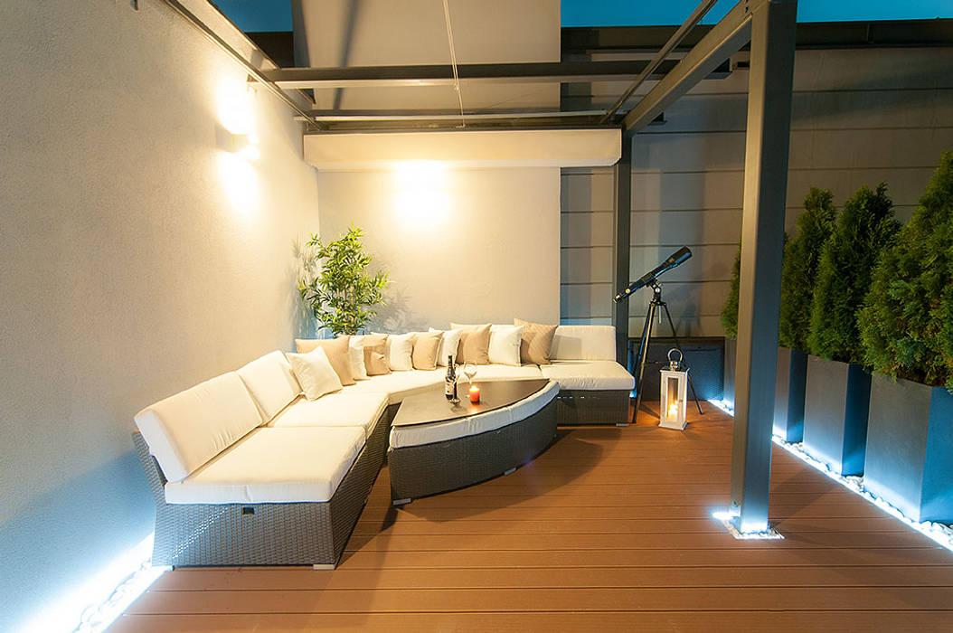 Perfect Space Balcon, Veranda & Terrasse classiques