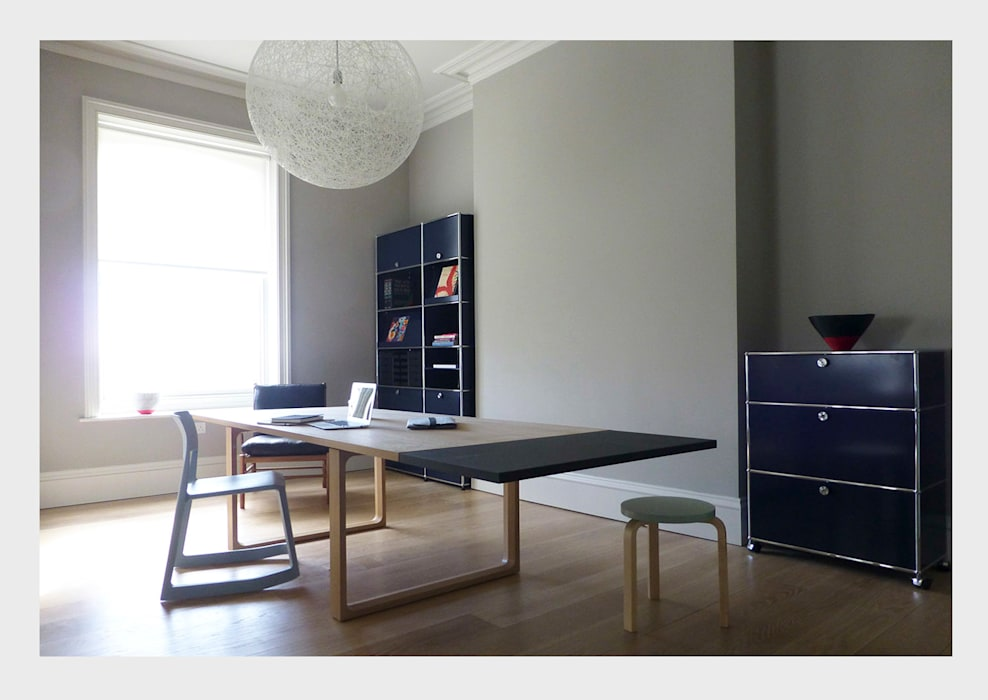 Town House, Sussex. Classic style study/office by CHALKSPACE Classic