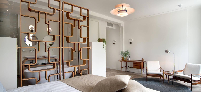 Vintage design meubels in luxe suite van de witte dame in abcoude ...