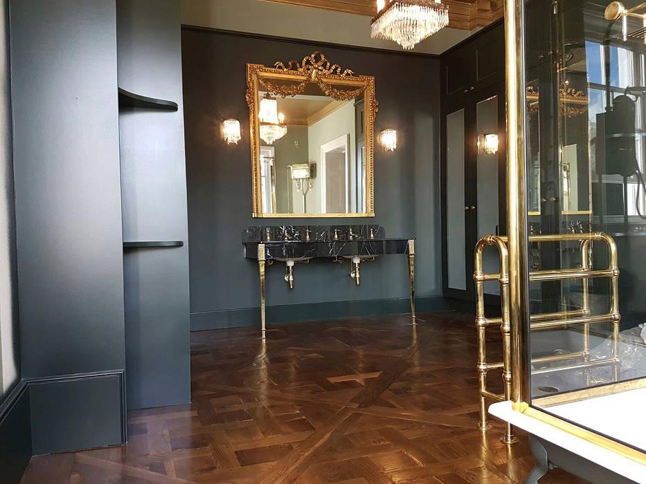 Bathroom by The British Wood Flooring Company