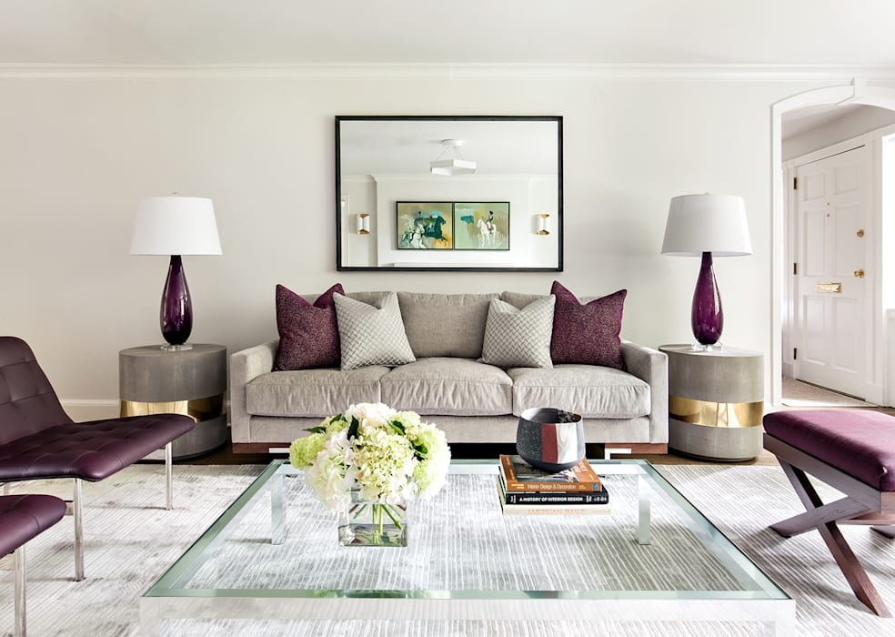 Living Room Clean Design Modern living room