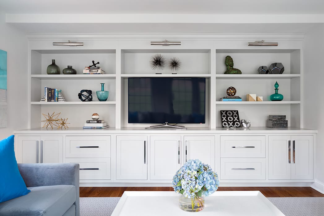 Moderne woonkamers van Clean Design Modern