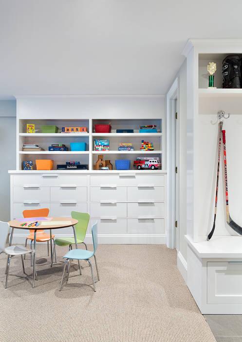 Basement Modern living room by Clean Design Modern