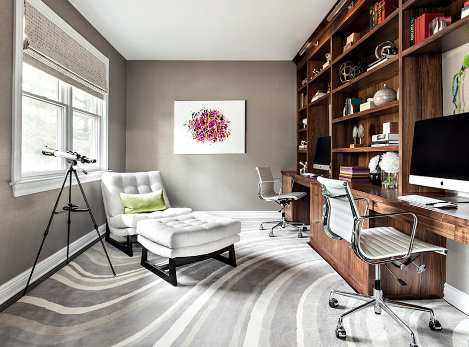 Home Offices:  Study/office by Clean Design