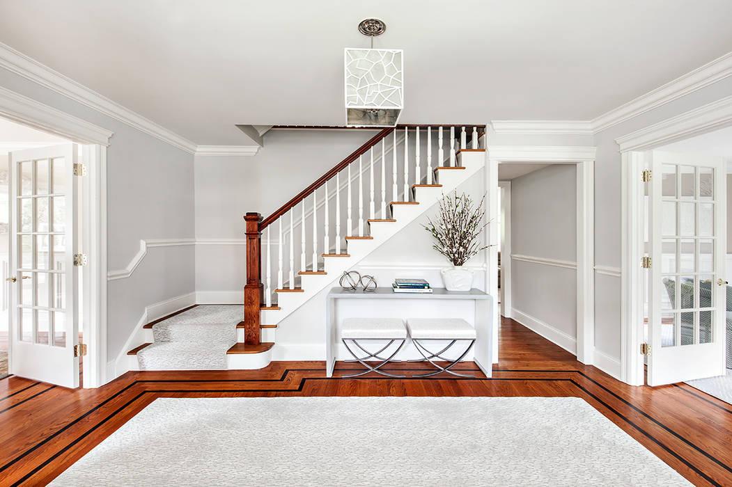 Couloir, entrée, escaliers modernes par Clean Design Moderne