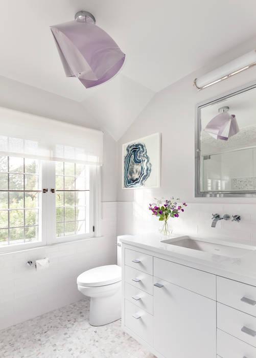 Kid's Bath Clean Design 現代浴室設計點子、靈感&圖片