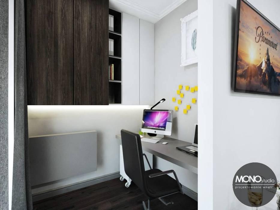 Oficinas de estilo moderno de MONOstudio Moderno