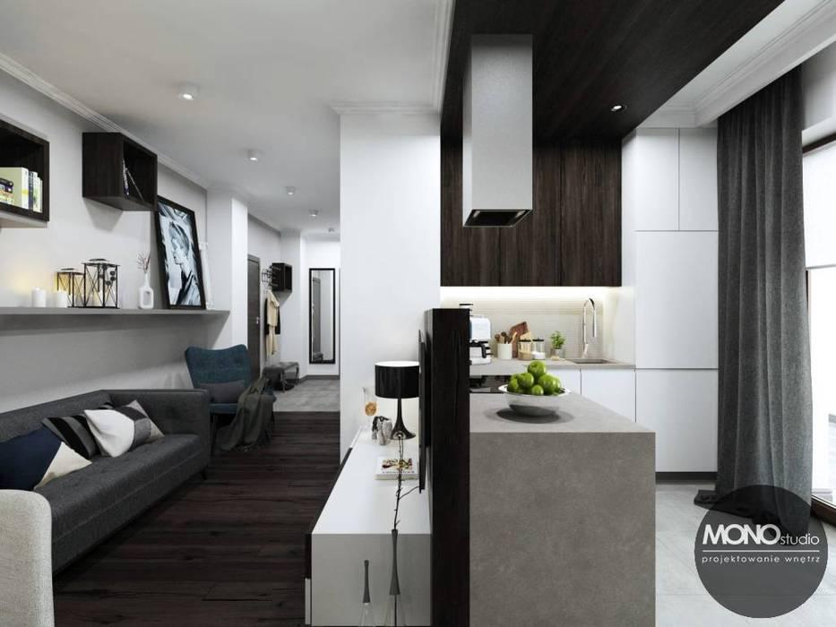 Salas de estilo moderno de MONOstudio Moderno