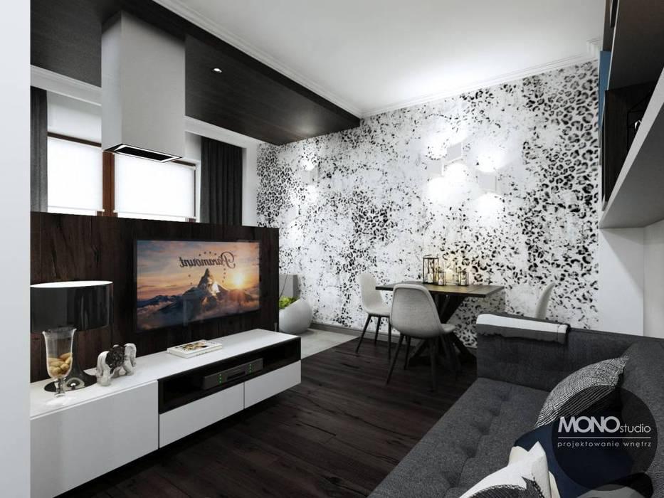 Ruang Keluarga oleh MONOstudio
