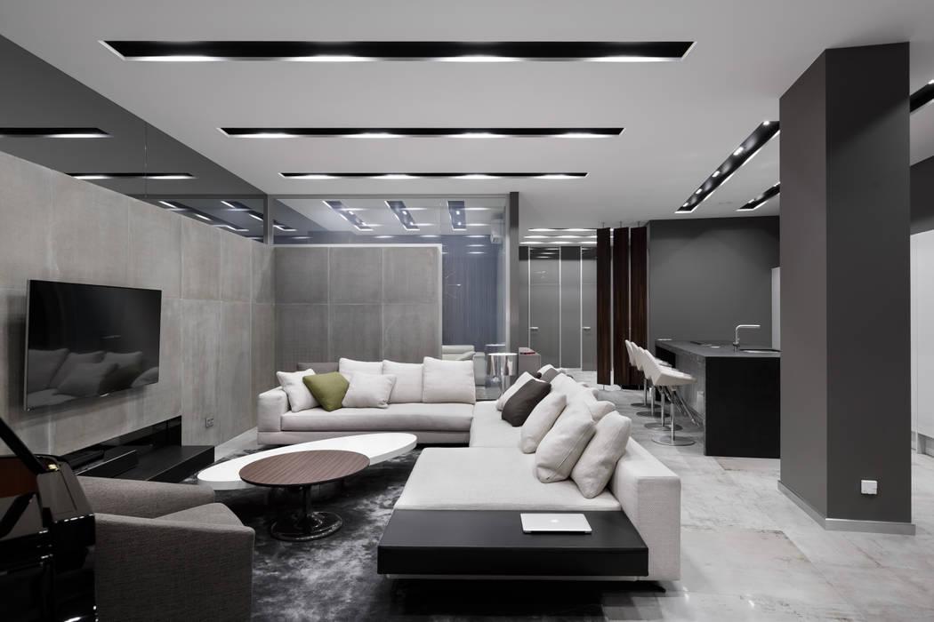 Salas / recibidores de estilo  por Archiprofi,