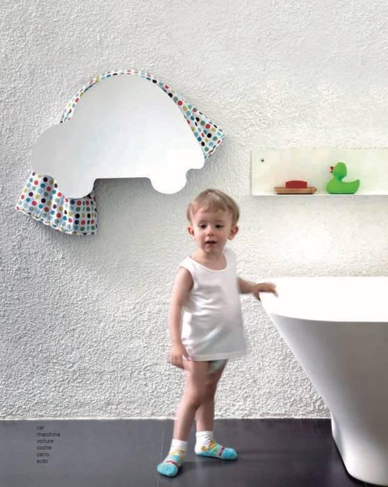 Handtuchwärmer aus der Kids-Serie von mg12 Moderne Badezimmer von RF Design GmbH Modern