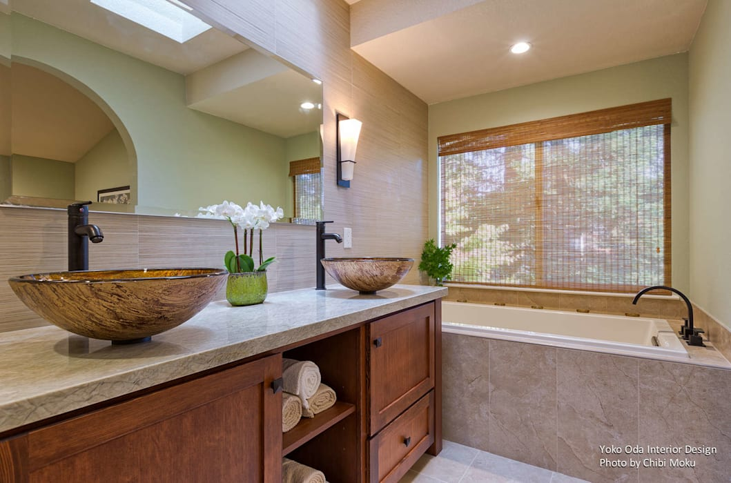 Yoko Oda Interior Design   Zen Bathroom   Interior 5: Asiatische Badezimmer  Von Chibi Moku