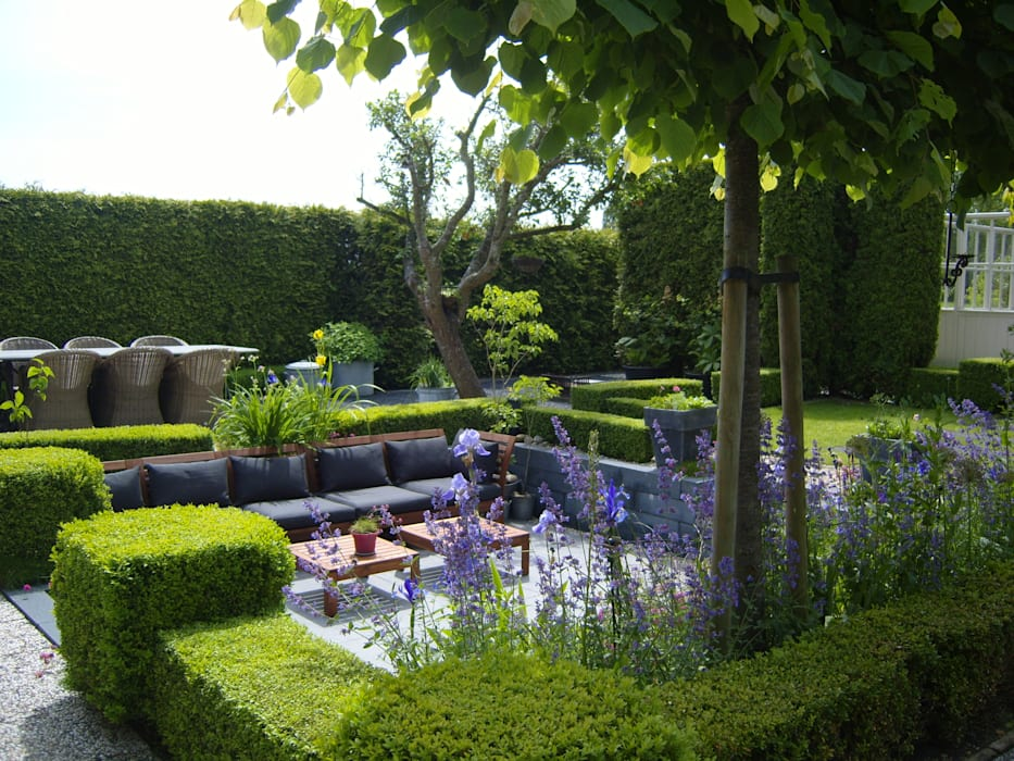 Eigen Tuin Ontwerpen : Moderne zitkuil in eigen tuin tuin door joke gerritsma