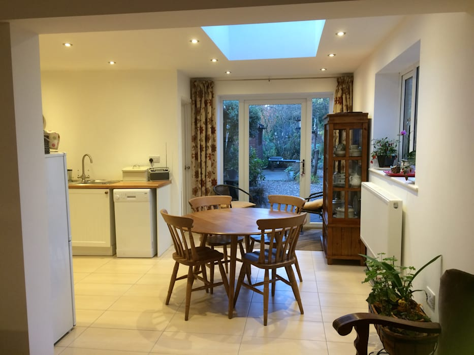 Kitchen dining extension Boston Lincolnshire: modern  by JMAD Architecture (previously known as Jenny McIntee Architectural Design), Modern