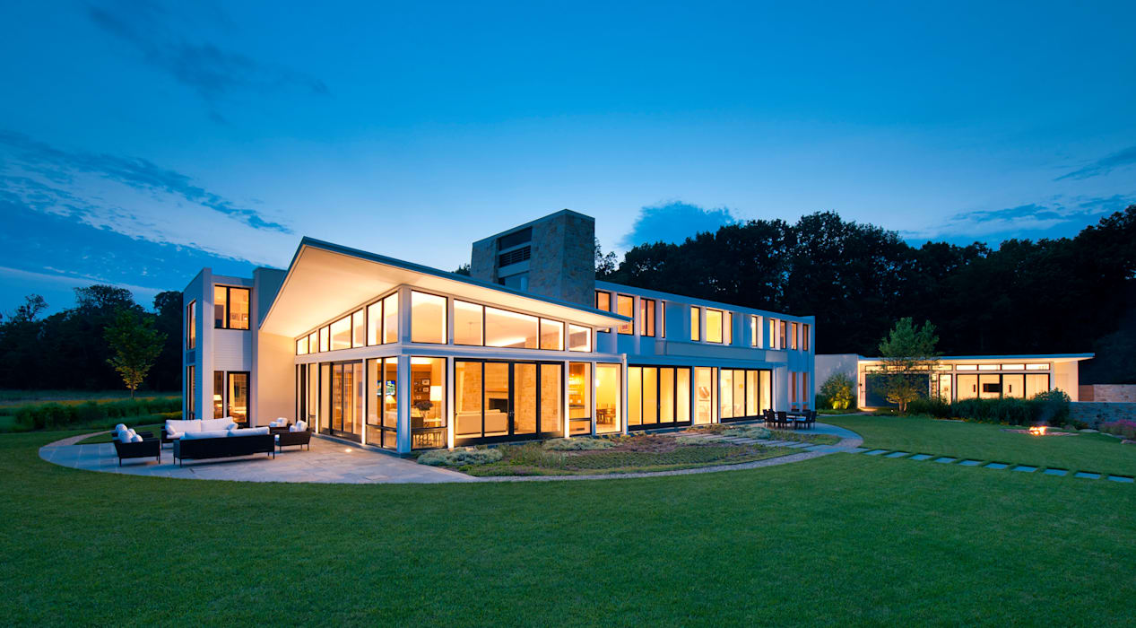 Casas modernas por Cunningham | Quill Architects Moderno