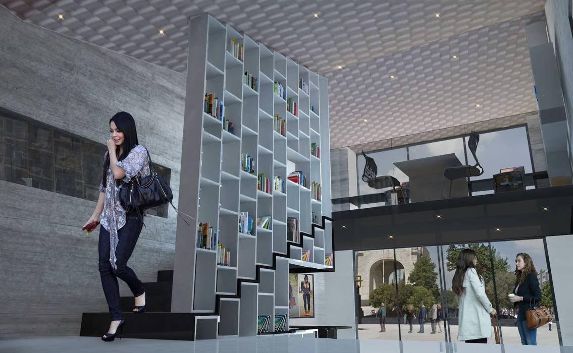 Estrategia del proyecto: Estudios y oficinas de estilo moderno por Arquitectos M253