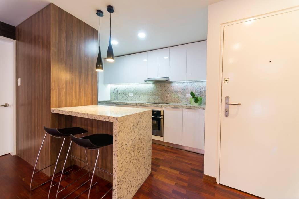 現代廚房設計點子、靈感&圖片 根據 Objetos DAC 現代風