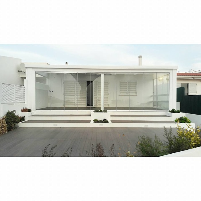 PROJETO DE REMODELAÇÃO DE EXTERIORES: Jardins de Inverno  por all Design  [Arquitectura e Design de Interiores],