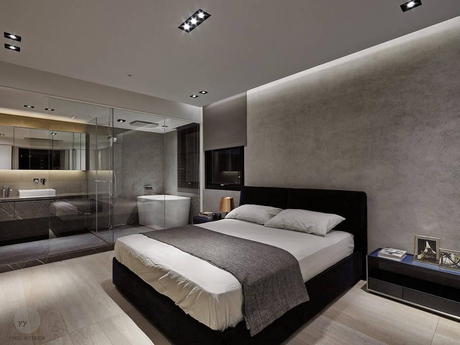 源自原本 Essence Modern Bedroom by 源原設計 YYDG INTERIOR DESIGN Modern