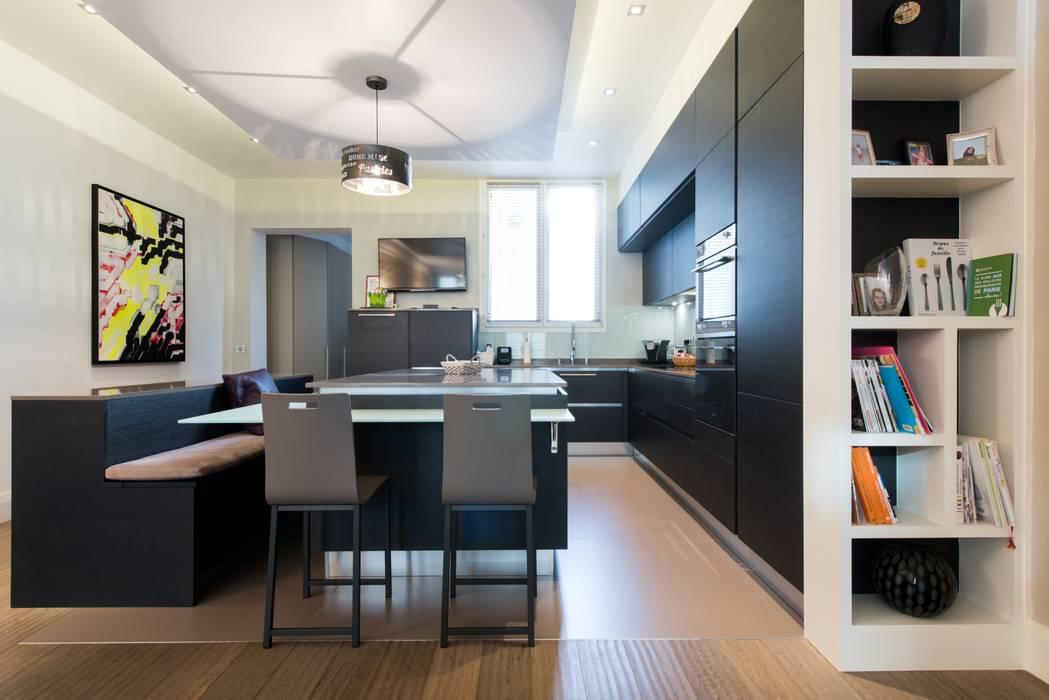 Modern Dining Room By La Cuisine Dans Le Bain Sk Concept Modern