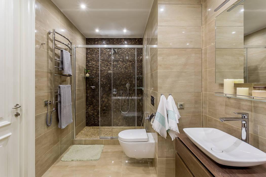 Salle de bain minimaliste par Alexander Krivov Minimaliste