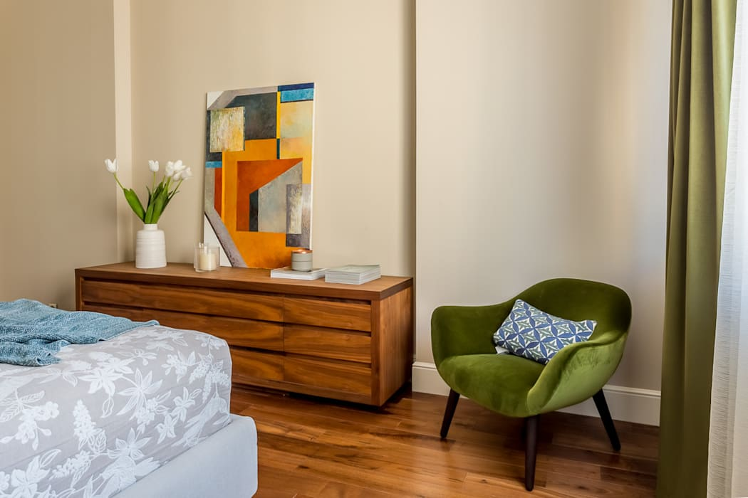 Chambre minimaliste par Alexander Krivov Minimaliste