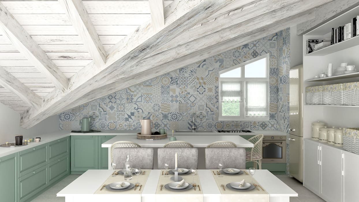 by Architetto Luigia Pace Rustic Wood Wood effect