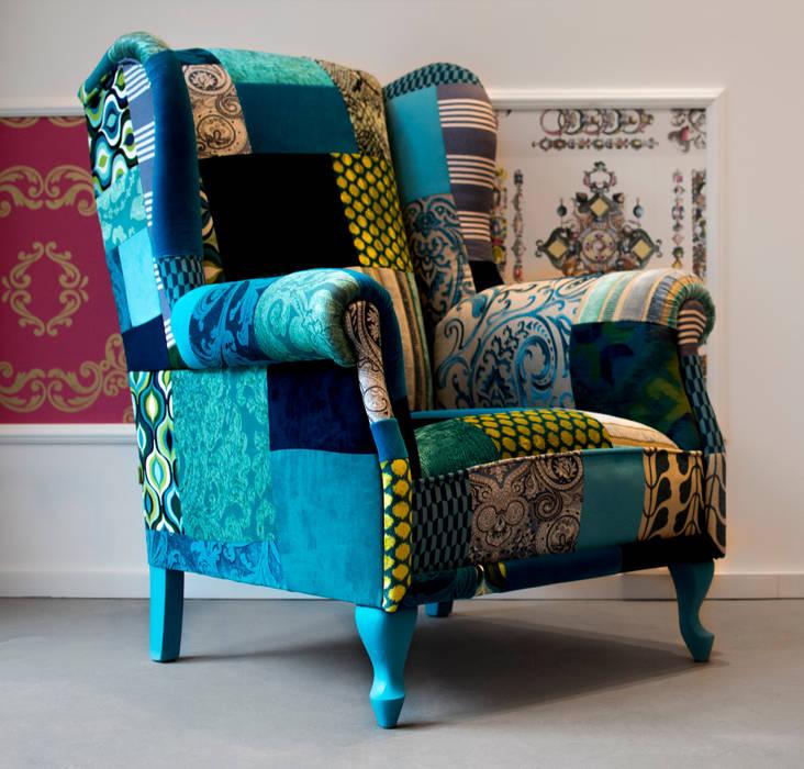 Juicy Colors ห้องนั่งเล่นโซฟาและเก้าอี้นวม Multicolored