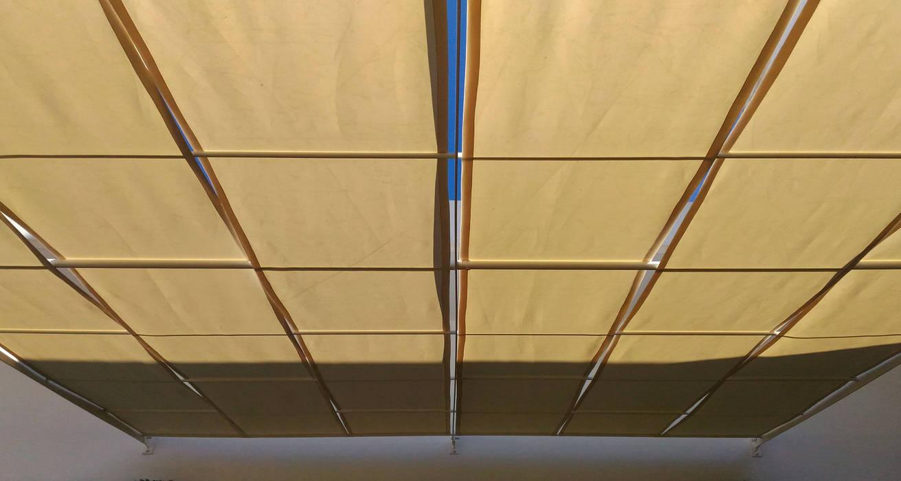 Tendapanchina: Giardino in stile in stile Industriale di Arch. Gianpiero Conserva