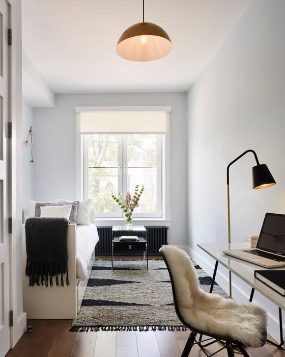Carroll Street Modern Bedroom by M Monroe Design Modern