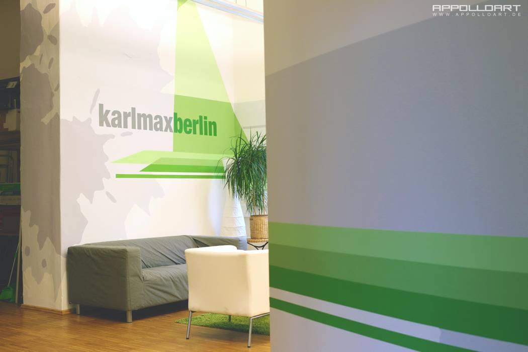 App Firma Raumdesign Im Berliner Büro Loft Bürogebäude Von