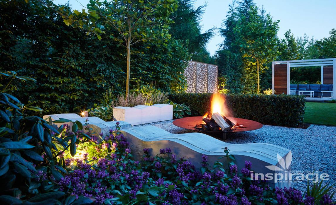 Taman Modern Oleh Studio architektury krajobrazu INSPIRACJE Modern
