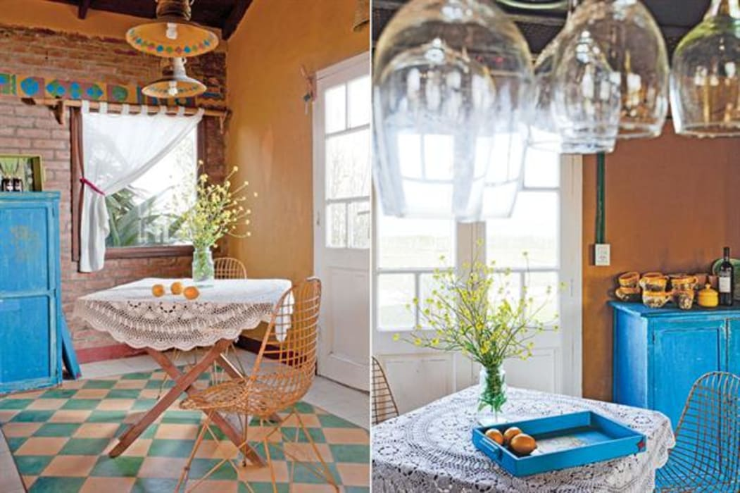 Dining room by Susana Bellotti Arquitectos