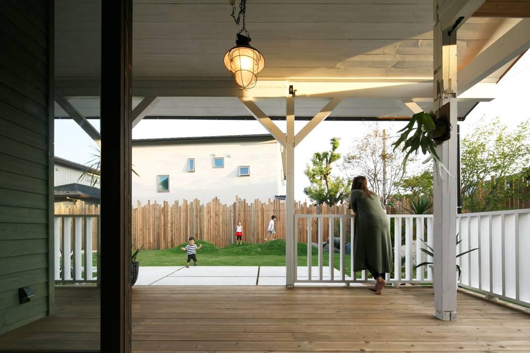 HOUSE-04(renovation): dwarfが手掛けたテラス・ベランダです。