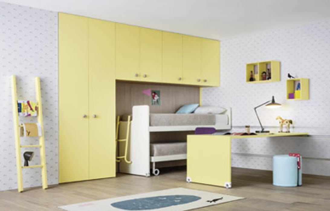 Idee Salvaspazio Camera Da Letto : Nidi mooving idee salvaspazio room camera da letto in stile