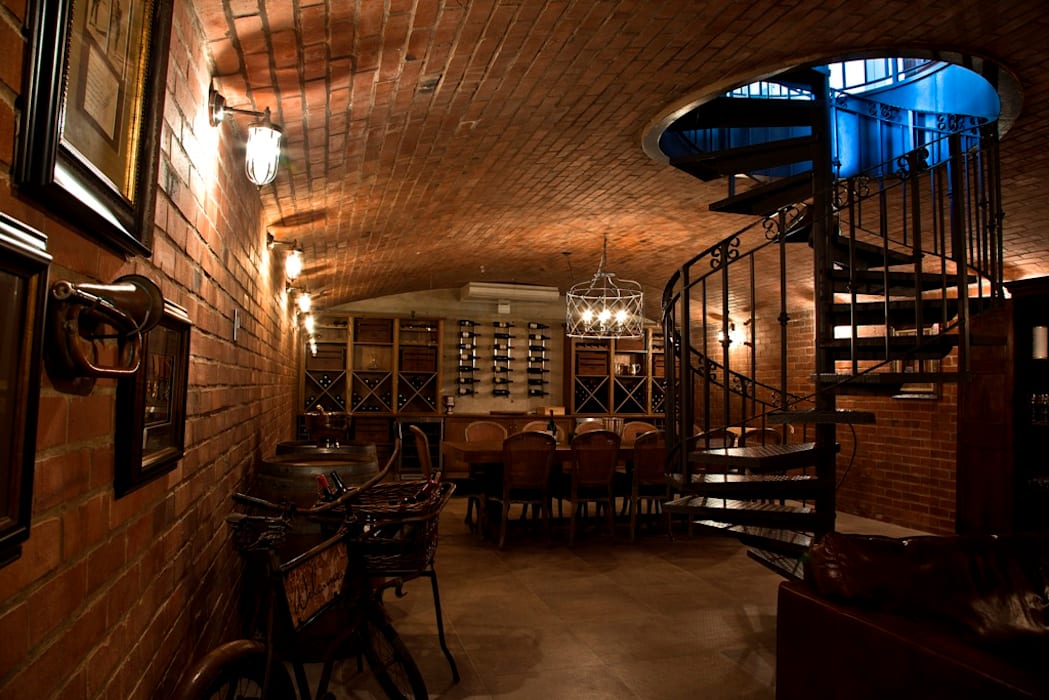 Wine cellar by Walker Smith Architects,