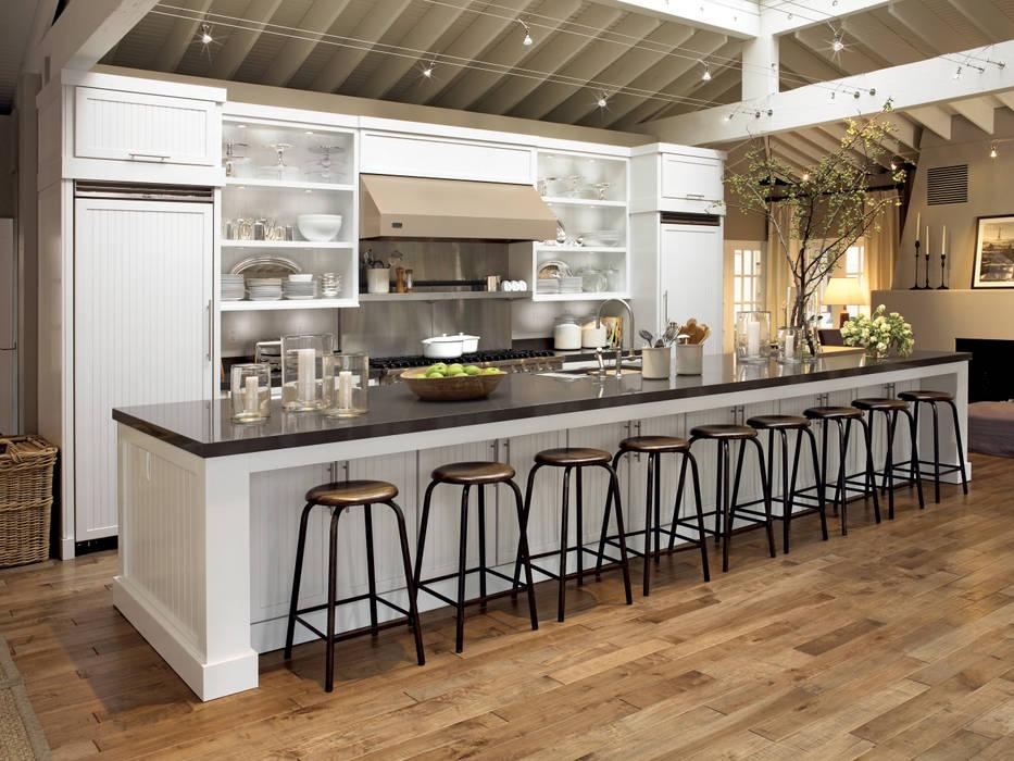 Kitchen Krafter Design/Remodel Showroom Dapur Modern White