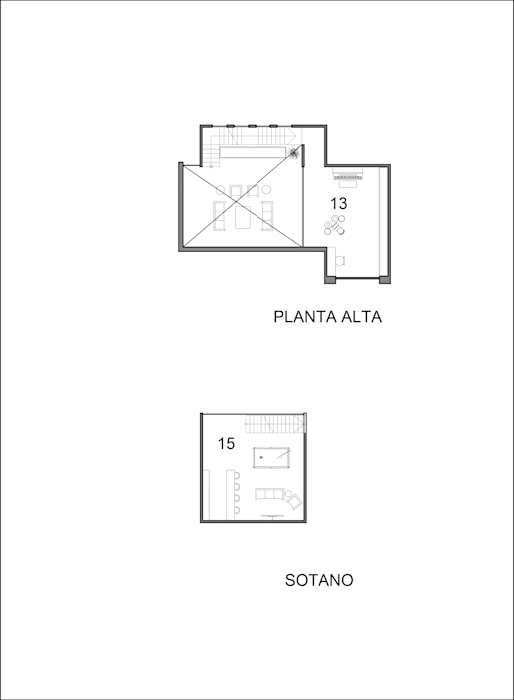 Planta Alta y Subterraneo Laboratorio Mexicano de Arquitectura