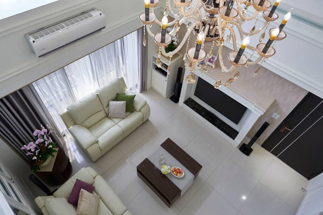 Salon moderne par 采金房 Interior Design Moderne