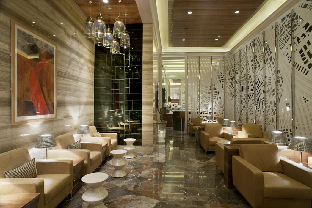 GVK Lounge by TFS Performa (Business Class at Terminal 2, Mumbai):  Airports by ABM ARCHITECTS,