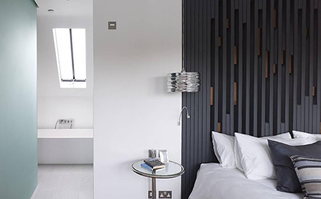 Gallery House on Richmond Park Dormitorios de estilo moderno de Elemental Architecture Moderno